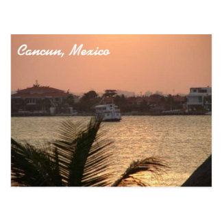 Cancun, carte postale du Mexique