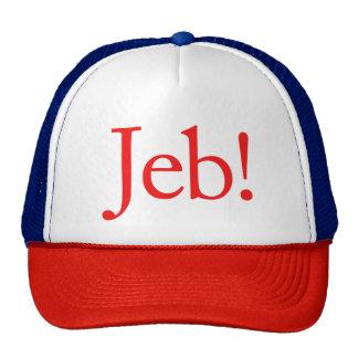 Candidat présidentiel 2016 de Jeb Bush Casquette Trucker