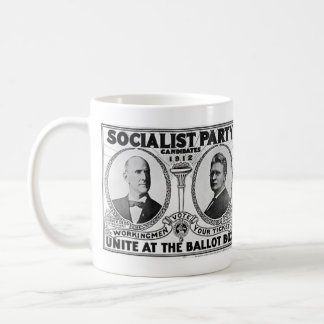 Candidats 1912 de Parti Socialiste Mug