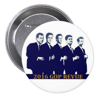 Candidats à l'élection présidentielle 2016 de GOP Badges