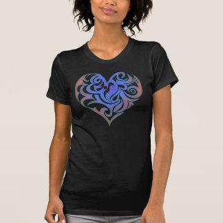 Candy Heart Blue Glow