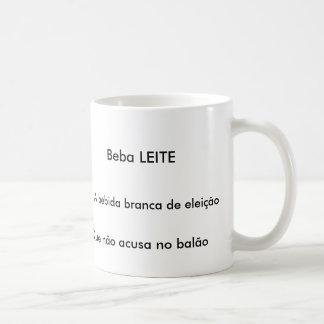 Caneca Beba Leite Mug Blanc