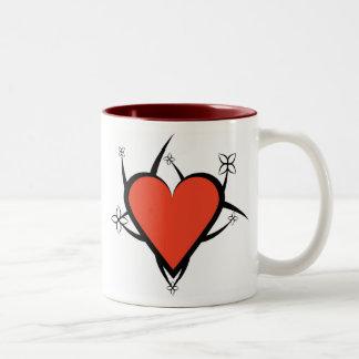 Caneca Coração Tasses À Café