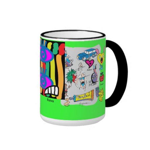 Caneca-croquis Mugs À Café