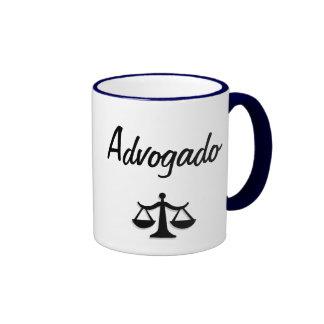 Caneca de advogado mug ringer