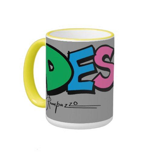 Caneca-Desejo Tasse À Café