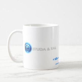 Caneca ESTUDA&TAL - branca Tasse À Café