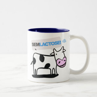 Caneca : lactose des PSEM Mug Bicolore