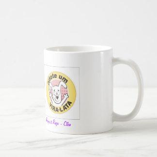Canette adopte un tourne boîte mug blanc