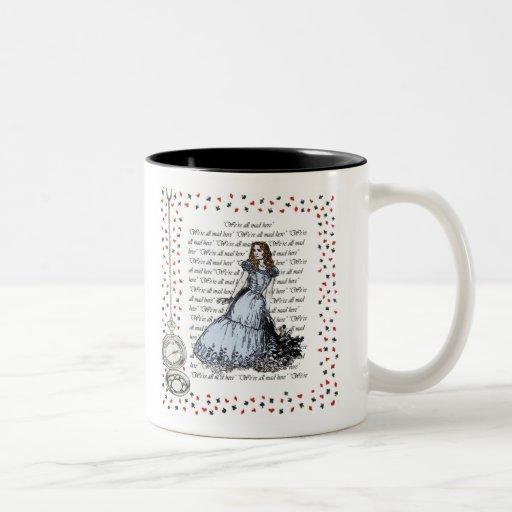 Canette Alice dans le pays des merveilles Mugs À Café
