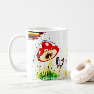 Canette de champignon mug