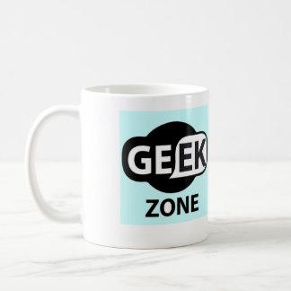 Canette Geek Zone Mug Blanc