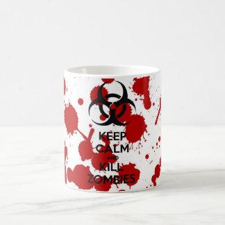 Canette Keep Calm And Kill Zombies Mug