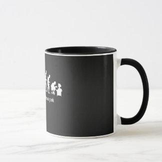 Canette Man Geek Evolution Mug