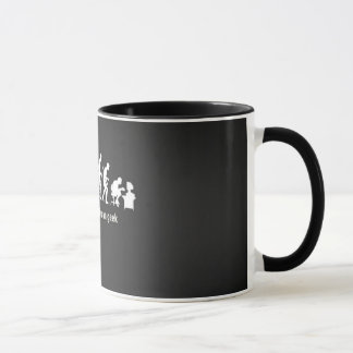 Canette Man Geek Evolution Tasses