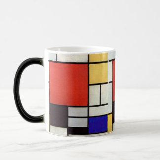 Canette Mondrian Mugs À Café
