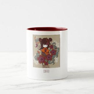 Canette ORIGINALE ! Mug Bicolore