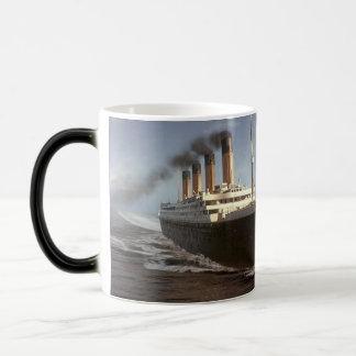 Canette - Titanic itinéraire les New York Mug Magique