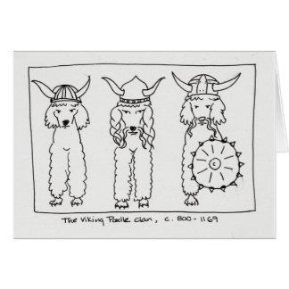 Caniche de Viking Cartes
