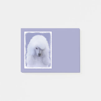 Caniche standard (blanc) post-it®