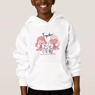 Caniches roses ensemble 2 de cancer du sein
