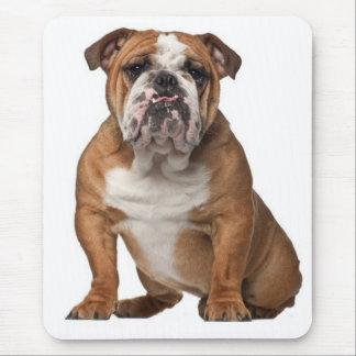 Canine anglaise Mousepad de chiot de bouledogue Tapis De Souris