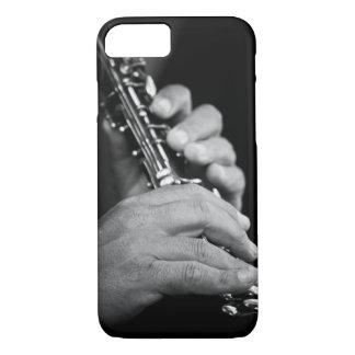 Cannelure étant jouée en noir et blanc par le coque iPhone 7
