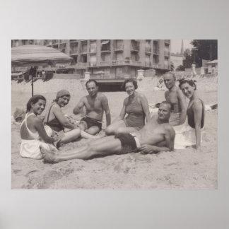 Cannes, copie des années 1930 poster