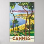 Cannes Cote d'Azur Poster