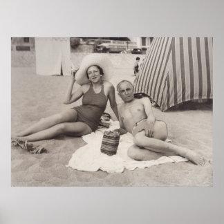 Cannes, France en 1930 s Posters