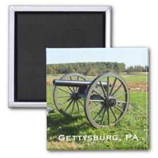 Canon sur le champ de bataille de Gettysburg Aimant