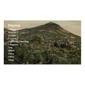 Canosa (c.-à-d., Cannosa), vue générale, Dalmatie, Carte De Visite Standard