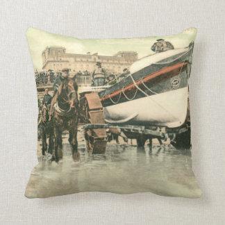 Canot de sauvetage lançant, 1900) coussins de