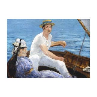 Canotage d'Édouard Manet Toile
