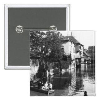 Canotage sur la rivière Gera à Erfurt Badge