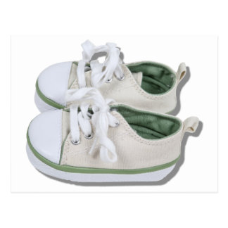 CanvasBabyShoes101610 Carte Postale