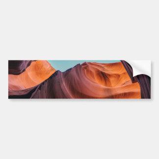 Canyon d'antilope autocollant pour voiture