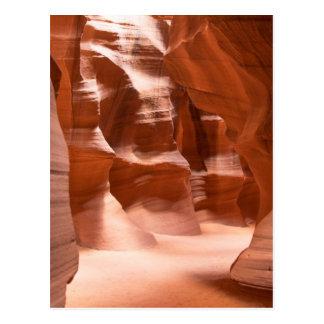 Canyon d'antilope, naturellement Lit Carte Postale