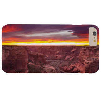 Canyon de Chelly, coucher du soleil, Arizona Coque Barely There iPhone 6 Plus