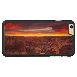 Canyon de Chelly, coucher du soleil, Arizona Coque Mince En Érable iPhone 6 Plus
