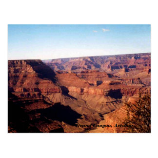 Canyon grand, carte postale de l'Arizona