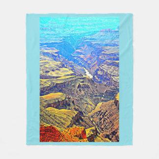 Canyon grand dans la couverture en pastel