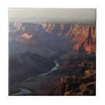 Canyon grand et fleuve Colorado en Arizona Carreaux En Céramique