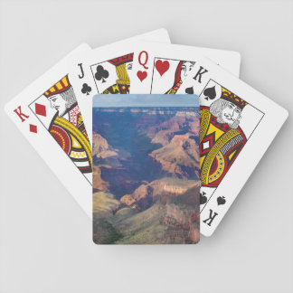 Canyon grand, traînée lumineuse d'ange jeux de cartes