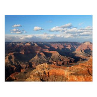 Canyon grand vu de la jante du sud en Arizona Carte Postale