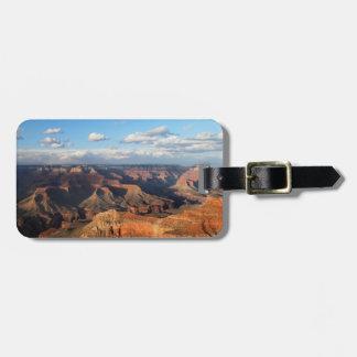 Canyon grand vu de la jante du sud en Arizona Étiquette Pour Bagages