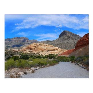 Canyon-Las rouge Vegas Nevada de roche Cartes Postales