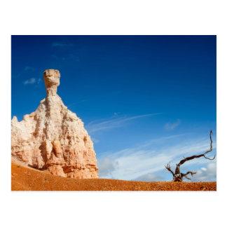 Canyon NP - gnome et une carte postale de Bryce