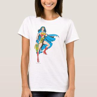 Cap de femme de merveille t-shirt
