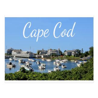 Cape Cod, carte postale de port de Harwich mA
